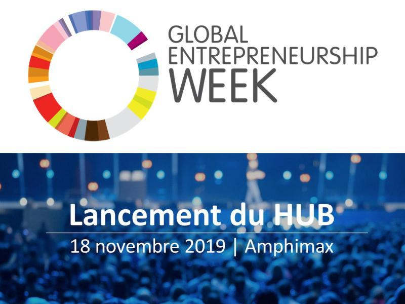 Entrepreneuriat et innovation: lancement du HUB et de la Global Entrepreneurship Week à l'UNIL