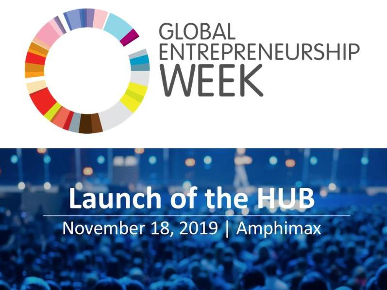 Entrepreneurship and innovation: launch of the HUB and Global Entrepreneurship Week at UNIL