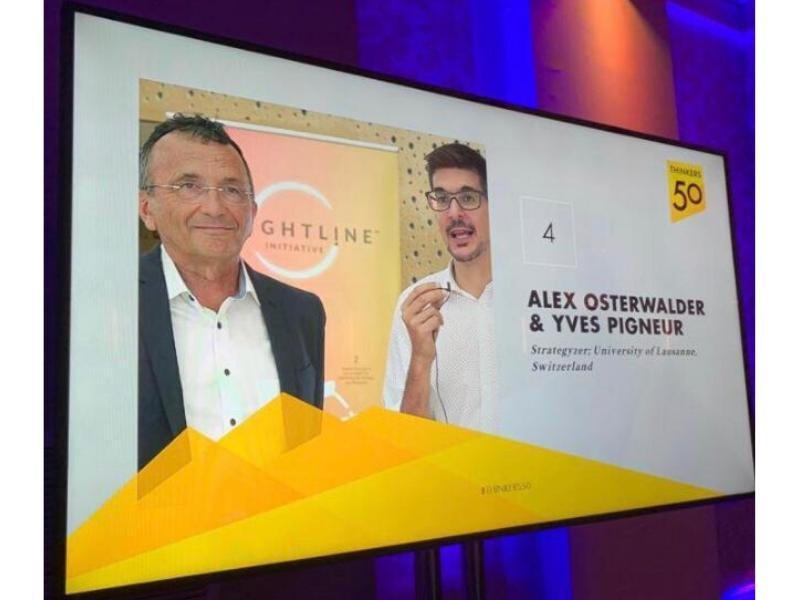 Prof. Yves Pigneur and Alex Osterwalder named among the top 50 thinkers in management