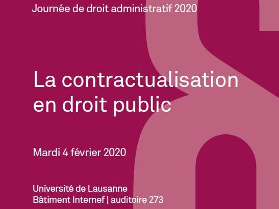 Colloque | La contractualisation en droit public