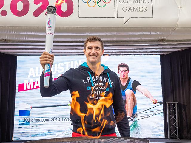 The Youth Olympic Games seen by an UNIL athlete