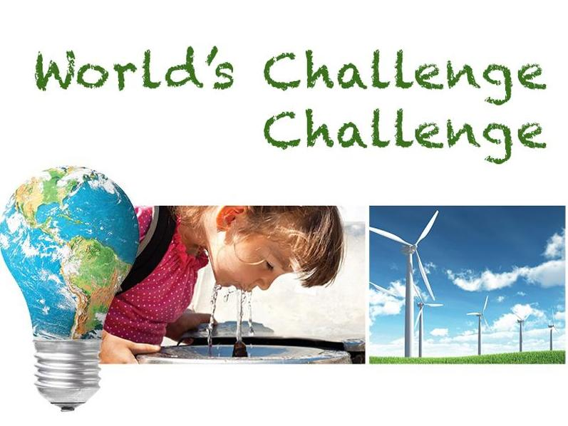 Think you have a solution to a global challenge?