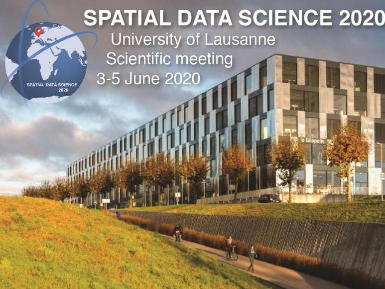 Spatial Data Science 2020: scientific meeting
