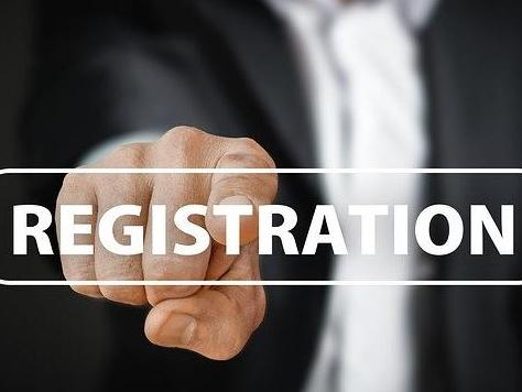 Registration for the academic year 2020