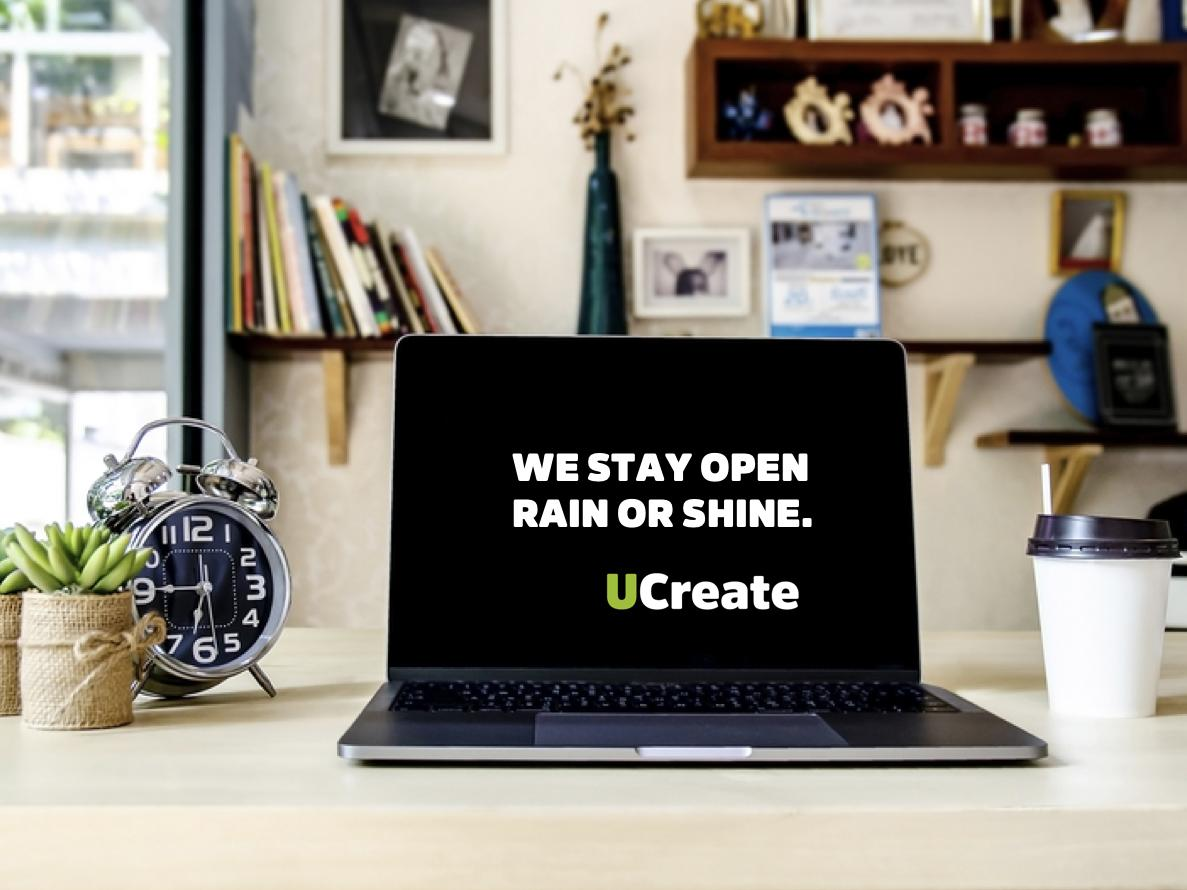 Launch of UCreate@Home - the HUB supports you online !