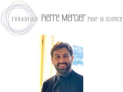Congratulations to Alexandros Kanellopoulos who received a research grant by the Pierre Mercier Foundation