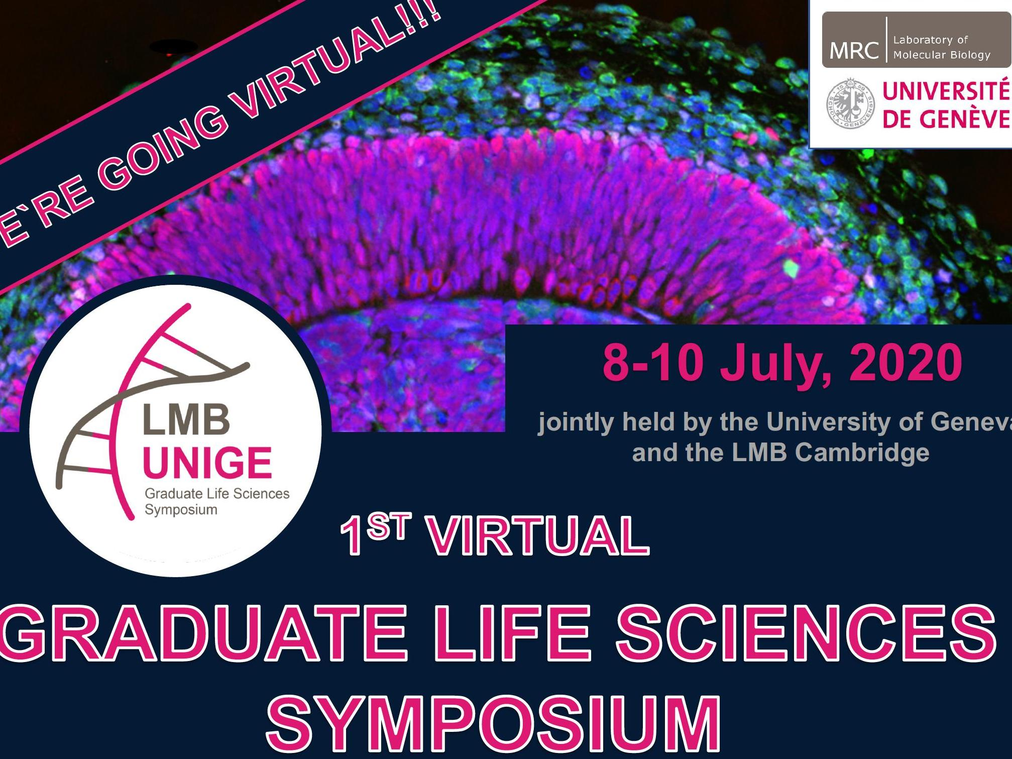 1st Virtual Graduate Life Sciences Symposium