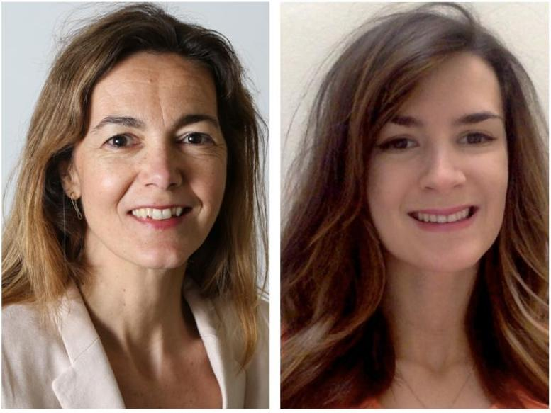 The prize for the best symposium from the Academy of Management is awarded to Prof. Franciska Krings and PhD student Oriana de Saint Priest