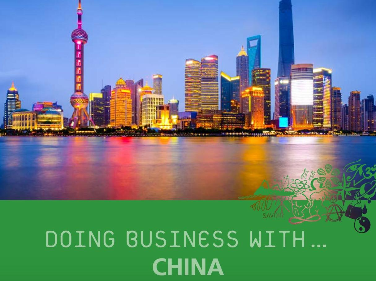 Doing Business With... China