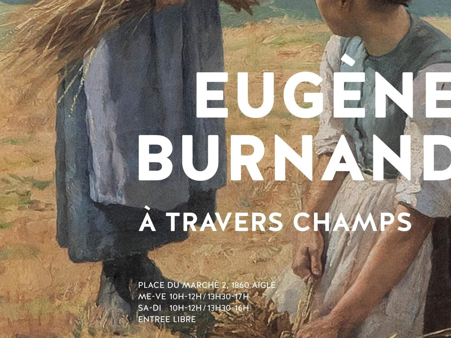 Eugène Burnand. À travers champs