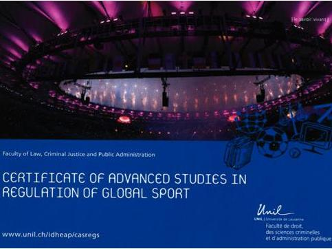 CAS | Regulation of Global Sport 2021