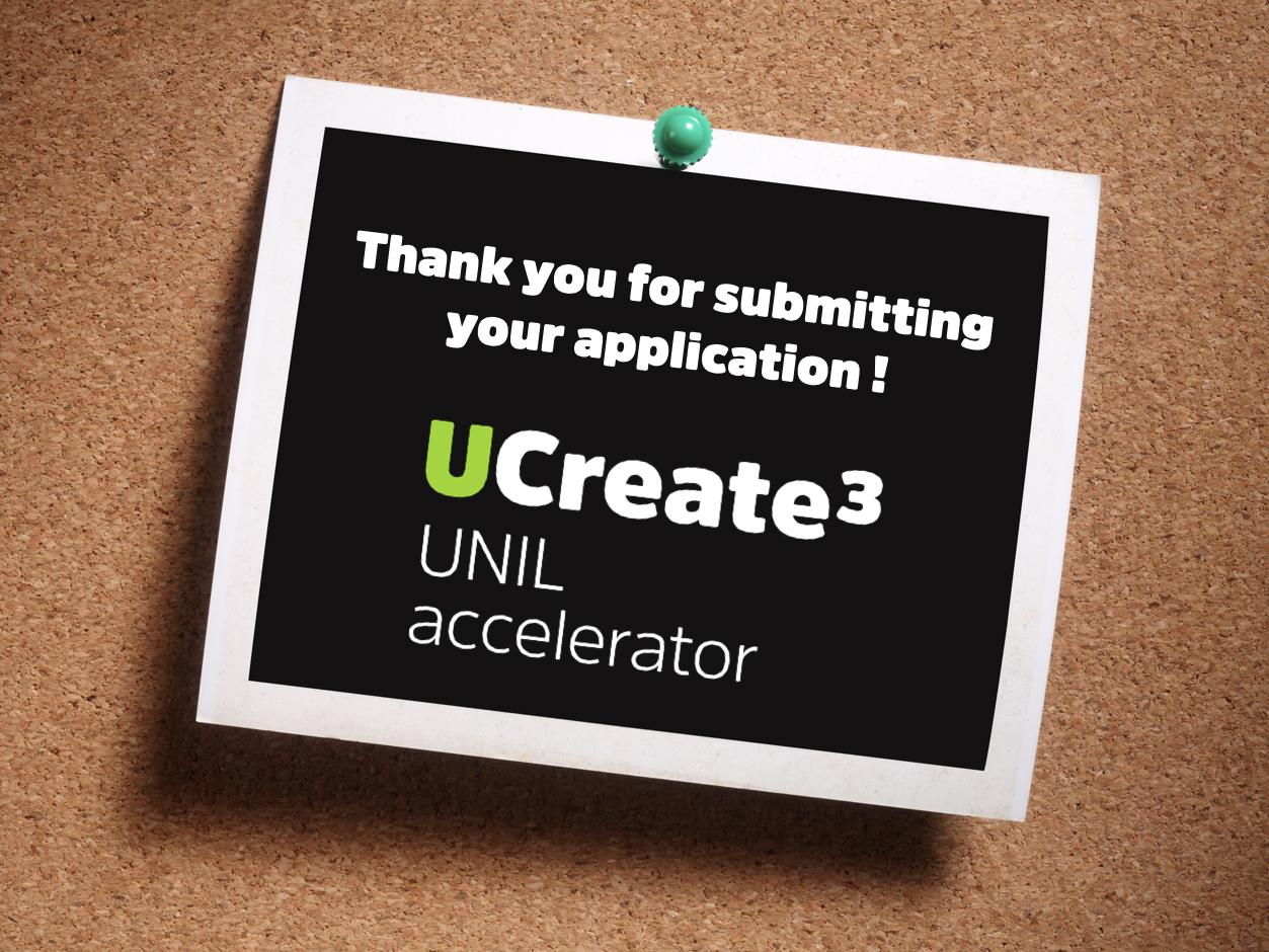 41 projects submitted for the UNIL interdisciplinary accelerator program