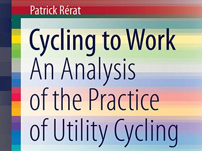 "New book: ""Cycling to work. An analysis of the practice of utility cycling"""