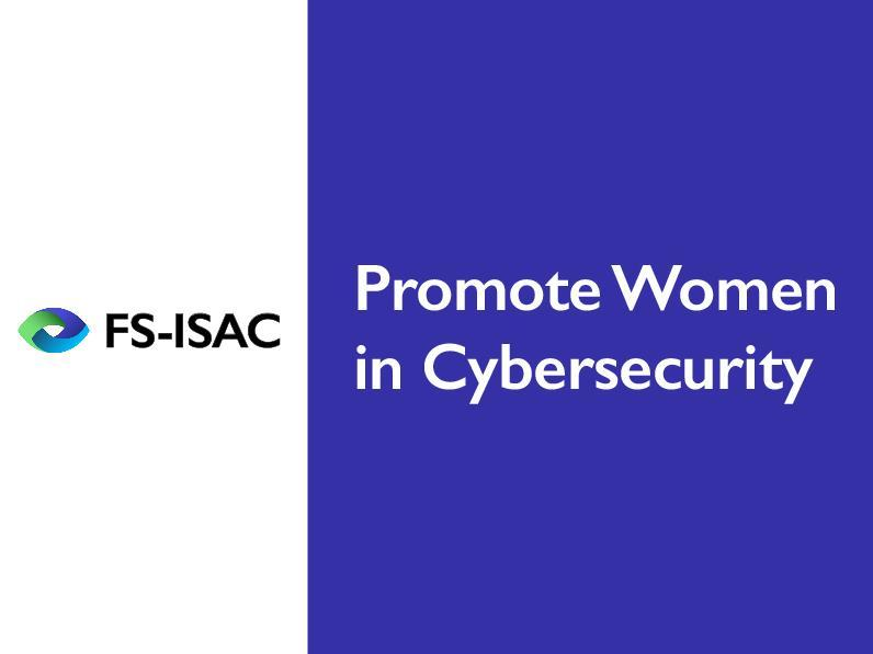 Bourse Women in Cybersecurity FS-ISAC