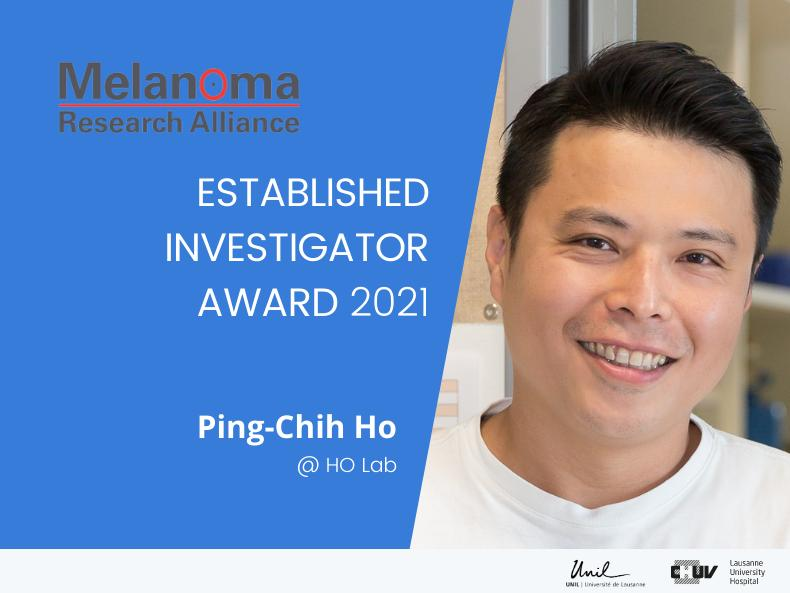 Melanoma Research Alliance to Ping-Chih Ho