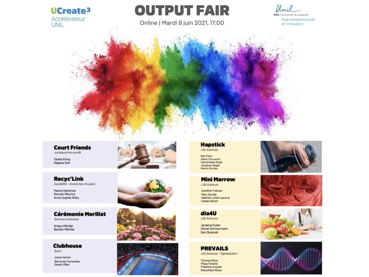UCreate3 : discover the 8 projects that participated in the spring 2021 session