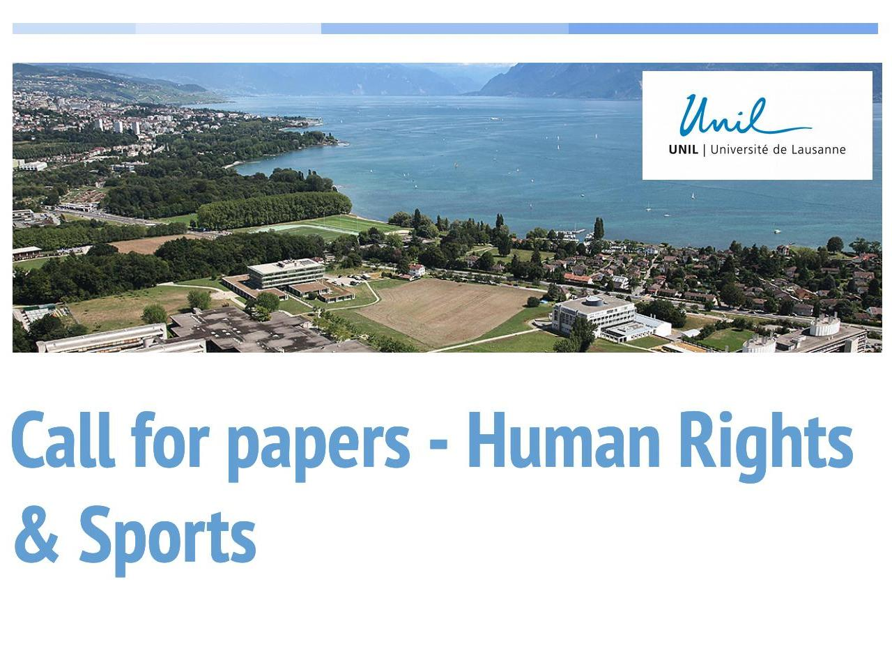 Human Rights & Sports - Call for Papers