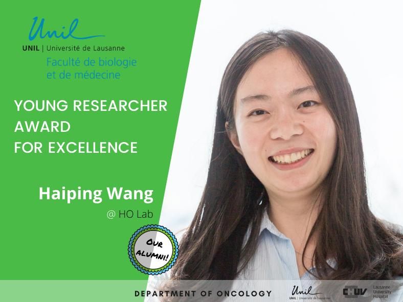 Young Researcher Award for Excellence - Haiping Wang