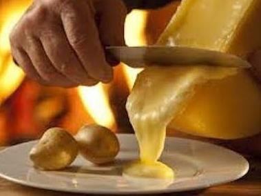 Raclette d'accueil - welcome raclette