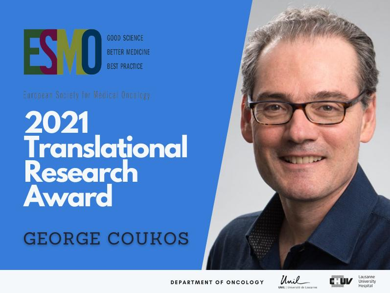 ESMO Translational Research Award - George Coukos