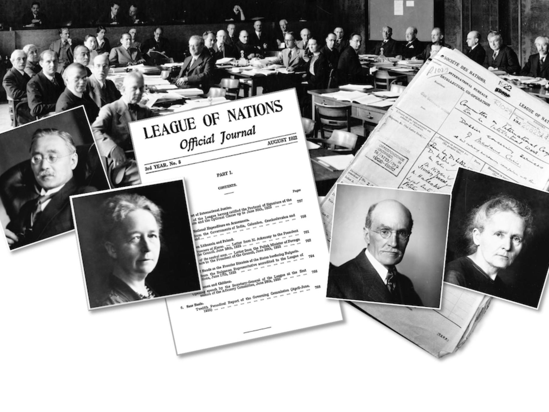 Centenary of the International Committee on Intellectual Cooperation of the League of Nations
